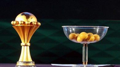 """صورة """"الكاف"""" تكشف عن قبعات قرعة كأس إفريقيا بالكاميرون"""
