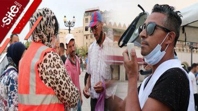صورة بعد تزايد إصابات كورونا.. حملة لتشجيع المواطنين للإقبال على مراكز التلقيح بوجدة