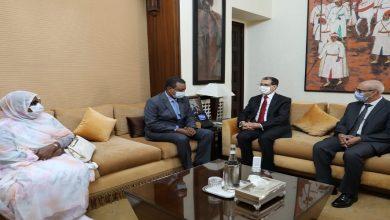 صورة رئيس الحكومة يستقبل رئيس لجنة العلاقات الخارجية بالجمعية الوطنية الموريتانية