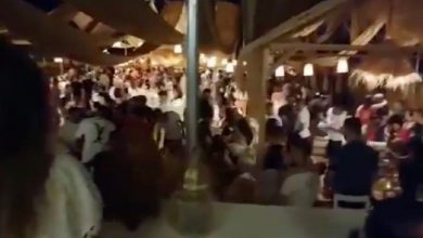 صورة رقص وموسيقى.. مطعم شمال المغرب يخرق حالة الطوارئ ومواطنون في صدمة